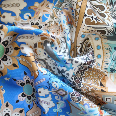 Scarf Russian ornament