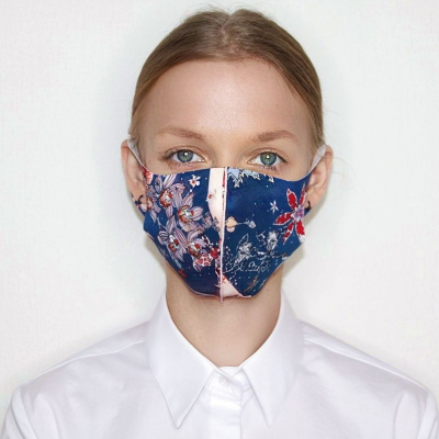 Textile mask Milky Way